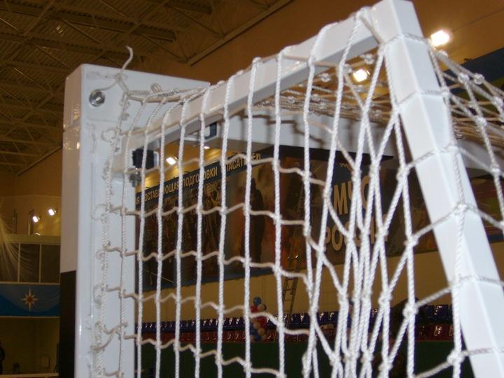Как сделать сетку на футбольные ворота